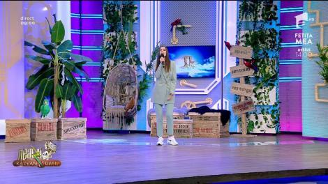 Karina cântă la Neatza cu Răzvan și Dani melodia Perfect time