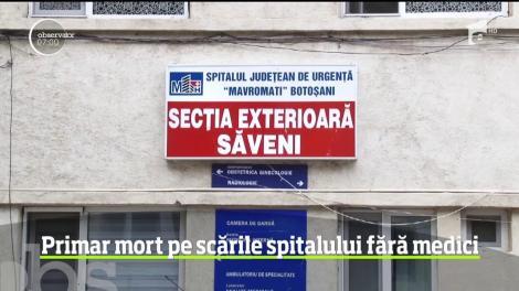Un primar botoşănean a murit pe scările unităţii medicale din Săveni în care nu se afla niciun medic
