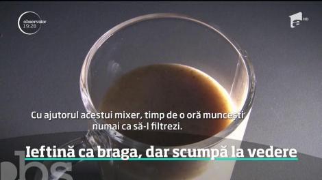 Băutura sultanilor - braga -  redescoperită de români