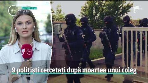 Mai mulţi şefi din Poliţia Timiş, cercetați după moartea agentului Cristian Amariei