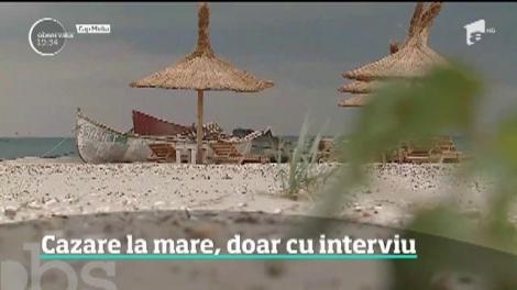 Cazarea pe litoral la pensiunile cu circuit închis, doar cu interviu
