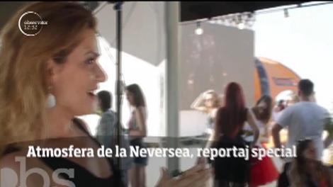 Atmosfera de la Neversea, reportaj special de Anamaria Gudu