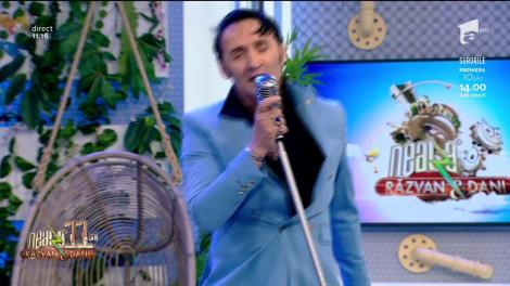 Elvis Mioveni, super show la Neatza cu Răzvan și Dani! Ascultă aici melodia Paralyzed!