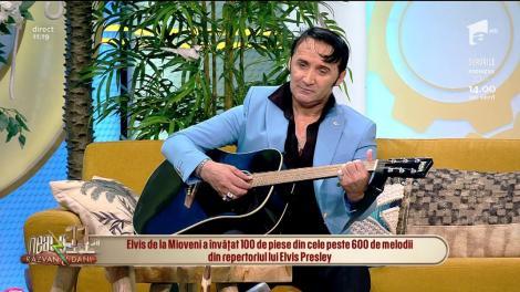 The King Is Back. Elvis de la Mioveni, la Neatza cu Răzvan și Dani! Valentin Mogoașe: Românii îl preferă pe Guță