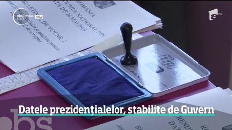Alegeri prezidențiale 2019. România îşi va alege viitorul preşedinte pe 10 noiembrie, în primul tur, şi pe 24 noiembrie în turul decisiv
