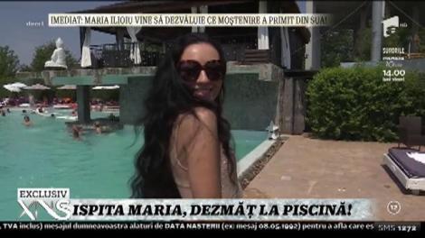 Xtra Night Show. Ispita Maria Ilioiu de la Insula Iubirii şi-a lansat prima colecţie de costume de baie