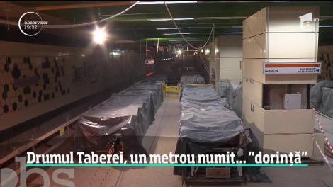 Cum arată stațiile magistralei de metrou din Drumul Taberei. După cinci ani de amânări, directorii Metrorex nu ştiu să spună când va transporta călători