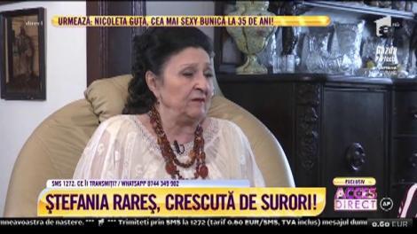 Acces Direct. Povestea Ştefaniei Rareş, artista președinților: Fusesem răpită de la Suceava și adusă la București