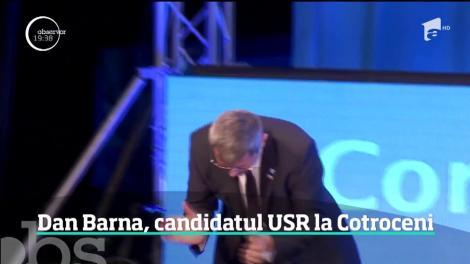 Dan Barna, candidatul USR la Cotroceni