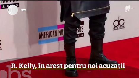 Cântăreţul american R. Kelly, arestat pentru noi acuzații
