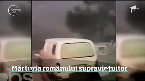 Mărturia românului care a supravieţuit ca prin miracol dezastrului din Grecia, dar şi-a pierdut soţia şi copilul