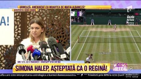 """Primele declarații ale Simonei Halep, la revenirea în țară: """"Sfaturile lui, unele dure, m-au făcut să cred că o pot învinge chiar și pe Serena Williams"""""""