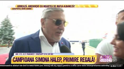 """Ilie Năstase, emoționat după întâlnirea cu Simona Halep: """"Regina noastră i-a furat cupa reginei Angliei și a venit cu ea la noi!"""""""