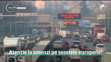 Atenție la amenzi pe șoselele europei! În Spania, tricoul la volan este obligatoriu