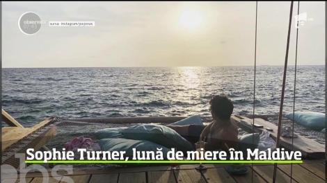 După petrecerea de nuntă fabuloasă de la Paris, Sophie Turner şi Joe Jonas sunt acum în luna de miere