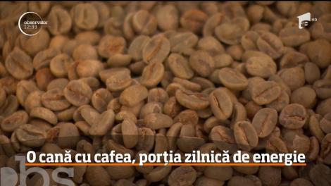 O cană cu cafea înseamnă porția zilnică de energie