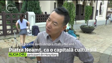 Oraşul Piatra Neamţ s-a transformat în aceste zile într-o veritabilă capitală culturală de renume mondial