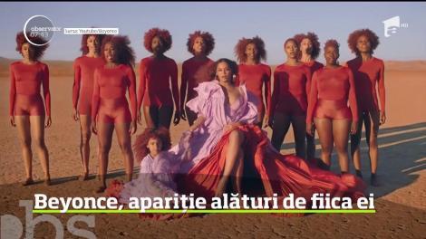Beyonce a lansat videoclipul piesei Spirit, de pe coloana sonoră a filmului The Lion King