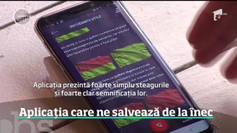 Aplicaţia lansată de Asociaţia Scafandrilor şi a Salvamarilor poate salva viața turiștilor de pe litoral