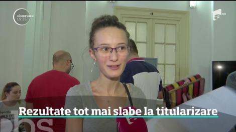 Examenul de titularizare confirmă din nou situaţia extrem de gravă din învăţământul românesc! Zeci de profesori din toată ţara au obţinut nota 1
