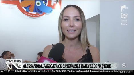 Xtra Night Show. Alessandra Stoicescu, panicată cu câteva zile înainte de naștere: Am fost și am cumpărat ultimele lucruri de pe listă