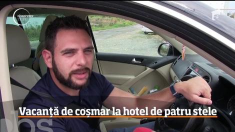 Vacanță de coșmar la un hotel de patru stele din Constanța