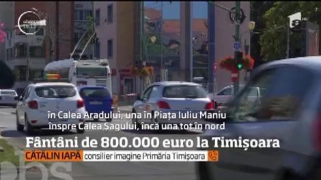 Fântâni arteziene de 800.000 de euro la Timişoara