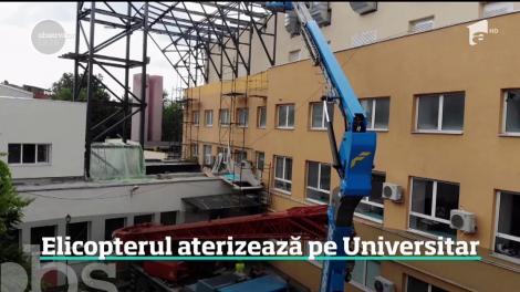 Cel mai modern heliport din țară va fi în București pe clădirea Spitalului Universitar
