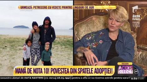 Acces Direct. Dana Nălbaru și Dragoș Bucur, viața în rulotă alături de trei copii