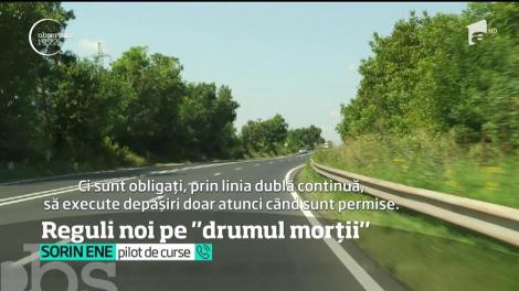 S-au schimbat regulile pe E85, cel mai periculos drum al României