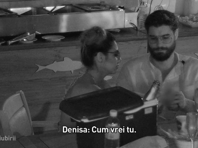 """Insula Iubirii. Andi nu s-a lăsat impresionat de reacţia Denisei: """"Toată disperarea asta are un scop ascuns!"""""""