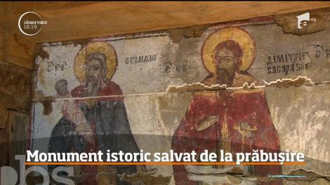 O biserică unică din România a fost restaurată cu ajutorul donaţiilor