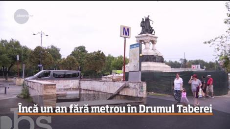 Încă un an fără metrou în Drumul Taberei