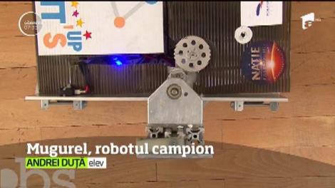 Un robot creat de o echipă de liceeni din Argeş a cucerit America