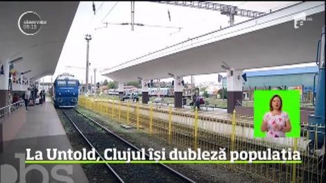 Cluj-Napoca este, pentru câteva zile, cel mai aglomerat oraş din ţară. Începe festivalul Untold