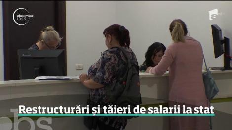 Lovitură cruntă pentru sute de angajați de la stat! Guvernul pregătește tăieri salariale și concedieri în masă