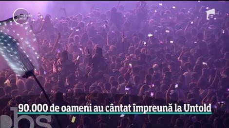 90.000 de oameni au cântat împreună la Untold