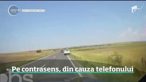 O şoferiţă din Buzău a fost la un pas să provoace o tragedie în drumul spre mare