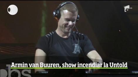 Busta Rhymes și Armin van Buuren au încis la propriu atmosfera la Untold