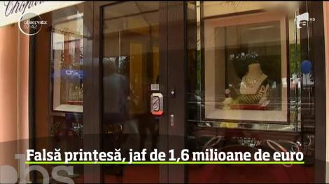 O falsă prinţesă a dat lovitură la Paris. A furat un milion 600 de mii de euro