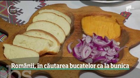 Bucătăria tradiţională revine în preferinţele românilor