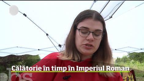 În Mureş, un festival tradiţional i-a purtat pe oameni în atmosfera Imperiului Roman