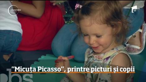 Alexandra Nechita, Micuţa Picasso, a cucerit lumea cu picturile ei