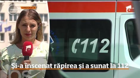 O adolescentă de 14 ani din Mangalia și-a înscenat răpirea și a sunat la 112