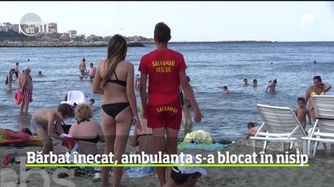 Momente de panică pe litoral! Un bărbat s-a înecat, după ce i s-a făcut rău în apă