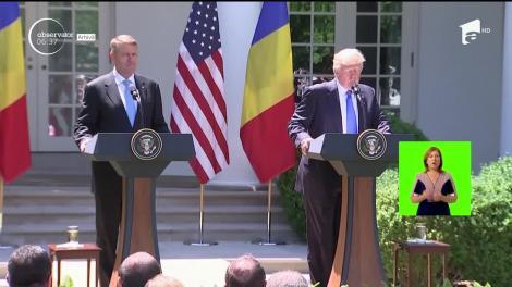 Preşedintele Klaus Iohannis se va întâlni cu Donald Trump, la Casa Albă, pe 20 august