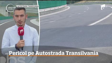 Autostrada Transilvania, din nou cu probleme! Tronsonul dintre Gilău şi Nădăşelu se deteriorează pe zi ce trece