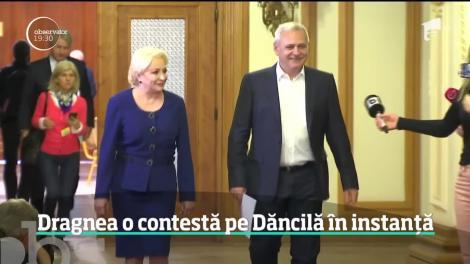 Liviu Dragnea o contestă pe Viorica Dăncilă în instanță