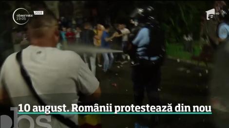 """""""Toate străzile care sunt blocate ne aparţin nouă!""""- Mii de români, la mitingul din Piața Victoriei. Ce se scandează"""
