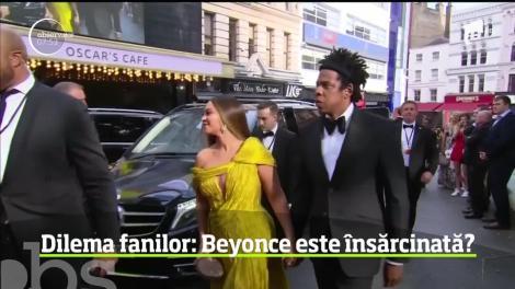 Fanii lui Beyonce o suspectează pe artistă că ar fi însărcinată